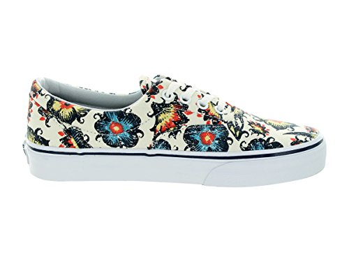 Vans U Era, Baskets Basses Mixte Adulte Blanc