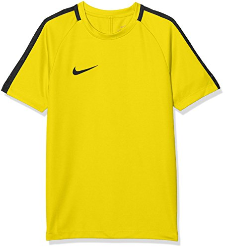 Nike Kinder Dry Academy 18 T-Shirt, gelb (Tour Yellow/Anthracite/Black), S (T-shirt Dry Fit Gelb)