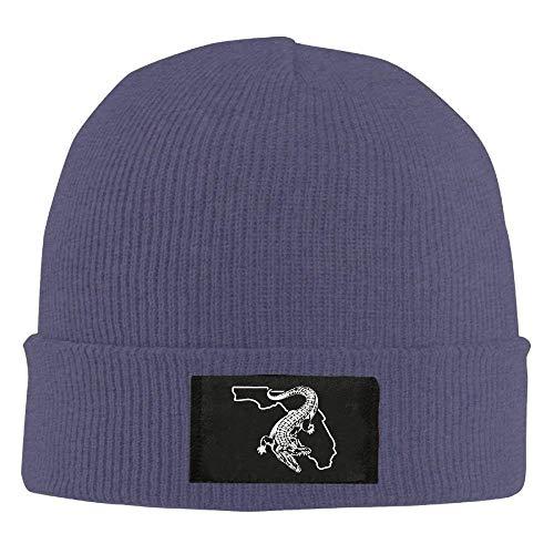 (Florida Gator Gators Fishing - Adult Knit Hat Beanies Hat Winter Warm Hat)