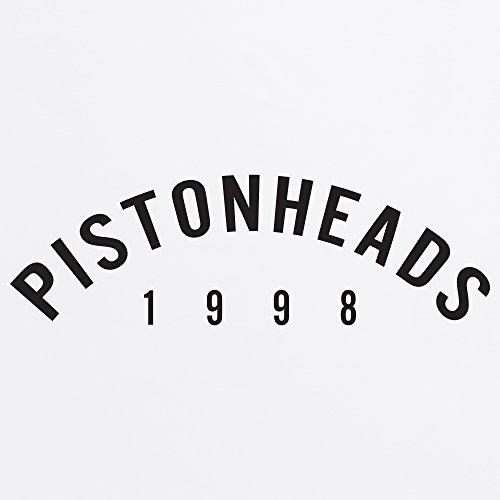 PistonHeads Arch Logo T-Shirt, Damen Wei