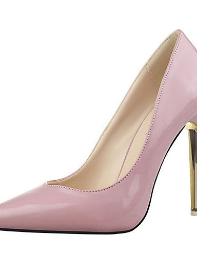 WSS 2016 Chaussures Femme-Décontracté-Noir / Violet / Rouge / Argent / Gris / Or / Beige-Talon Aiguille-Talons-Talons-Laine synthétique black-us6.5-7 / eu37 / uk4.5-5 / cn37