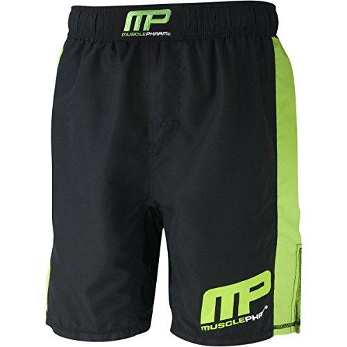 Muscle Pharm Herren Textilbekleidung Printed Shorts Black