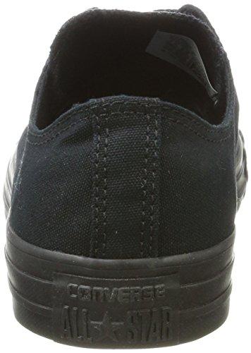 Converse Chuck Taylor All Star, Unisex – Erwachsene Sneaker, Schwarz (Black Mono), Gr.43 EU - 2