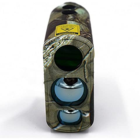 laserworks LW1000PRO telemetro laser professionale per caccia e Golf, Fendinebbia, misurazione, Goniometro, Fan Serrature, Telemetro impermeabile, semplice da usare, 6x ingrandimento