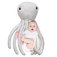 Sanmubo Soft Stuffed Marine Animals Toy Octopus Plush Doll Christmas Birthday Valentine Gift For Baby