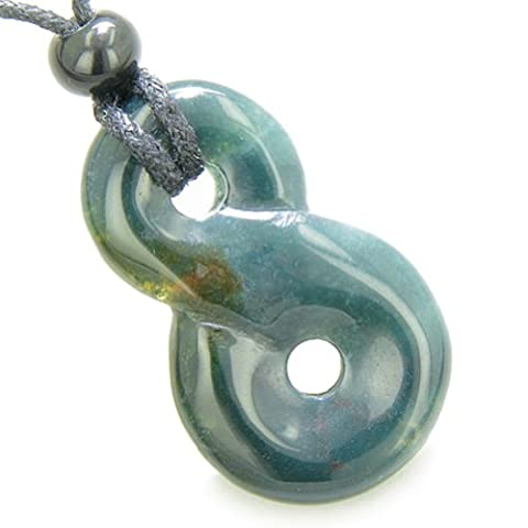 Infinity Magic Powers Knot Lucky Charm Good Luck Amulet Indian