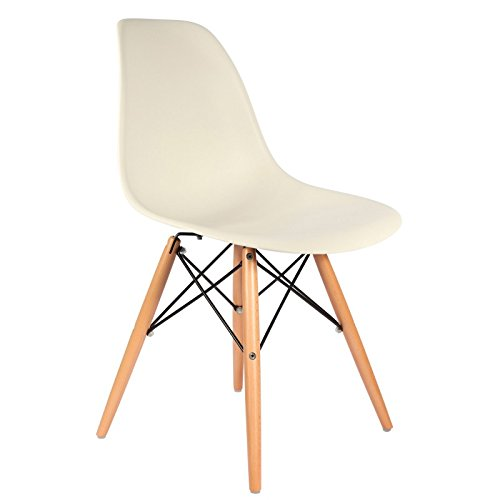 eames inspiriert dsw stuhl wei natrliche - Eames Stuhl Wei