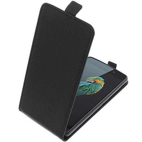 foto-kontor Tasche für TP-Link Neffos C5 Max Smartphone Flipstyle Schutz Hülle schwarz