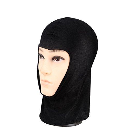 DDLBiz schwarz Outdoor Radfahren Ski Face Mask Warm Schal Kapuze Hat