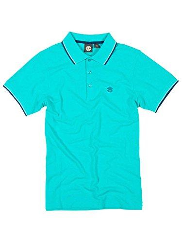 Herren Polo Shirt Element Freddie Polo Aqua