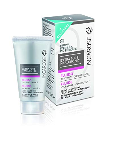 Incarose Extra Pure Hyaluronic Fluide Visage Collagène 15 ml