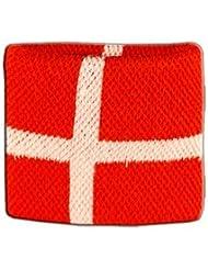 Digni® Poignet éponge avec drapeau Danemark