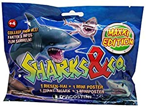 Sharks & Co. Maxxi Edition - Figura coleccionable, 1 unidad modelo surtido
