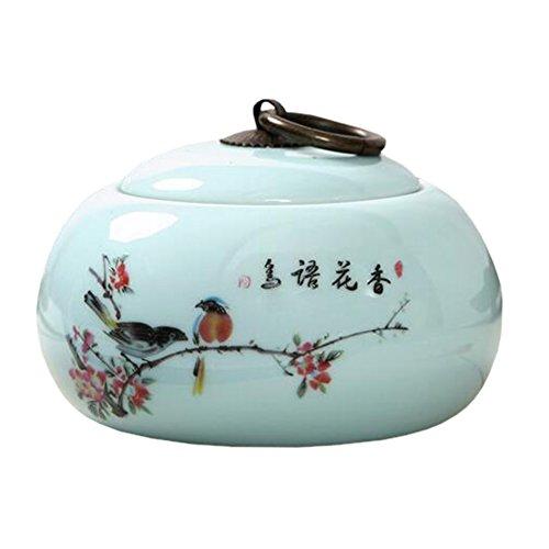 Chinesische Tee / Kaffee Container Keramik Topf S??igkeiten / Snacks / Cookies Topf Lagerung Flaschen NO.31