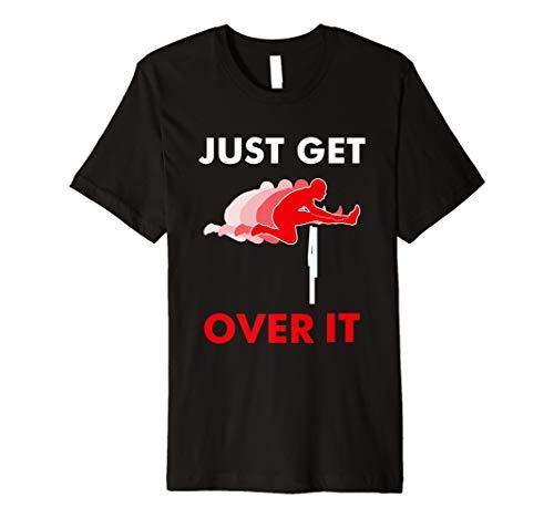 Cooles Hürdensprinter und Hindernislauf T-Shirt