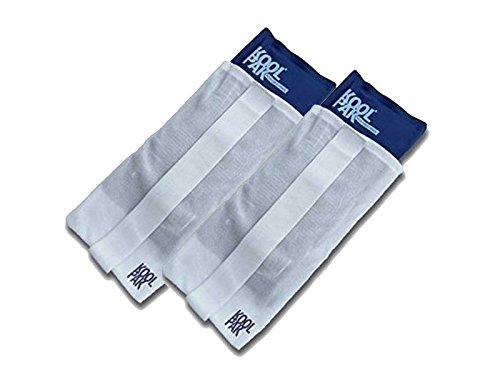 Koolpak - Pack de 2 bolsas de gel para aplicar frío y calor - Con banda de compresión