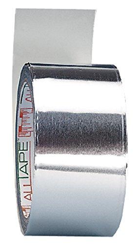 neoLab 2-6265 Aluminium-Klebeband, 0,1 mm stark, 50 mm br, Rolle 50 m