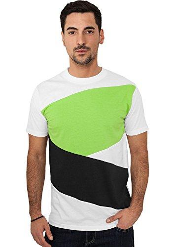 Urban Classics Herren T-Shirt verschiedene Farben black/white/limegreen