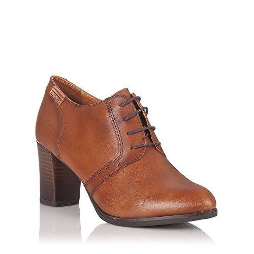 Pikolinos , Chaussures de ville à lacets pour femme marron Cuero Tan Cuero Tan