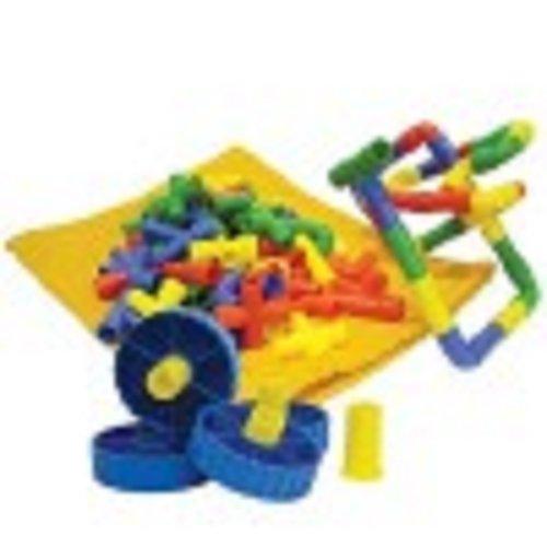 play-discover-gioco-con-tubetti-incastrabili-e-4-ruote-confezione-da-100-pezzi