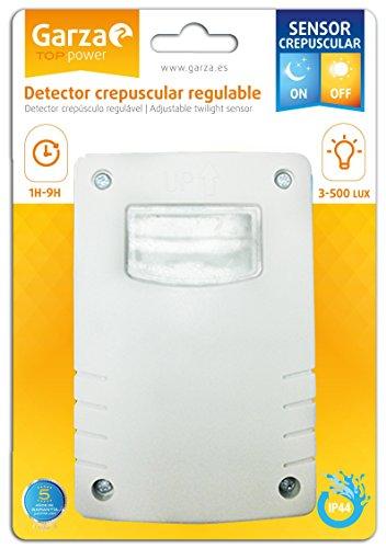 Garza - Detector Crepuscular Regulable exterior