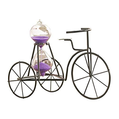 SUPVOX Tricycle Hourglass Sandglass Timer Sand Timer Desktop Ornaments Couleur aléatoire