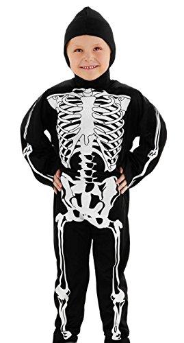 Folat 23767 - Skelett Kostüm fur Kinder - Kostüme Kinder Skelett