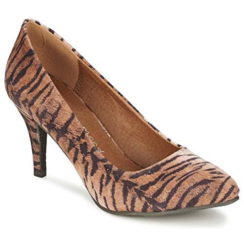 MOONY MOOD Leni Zapatos de tacón Femmes Tigre - 36 - Zapatos de tacón