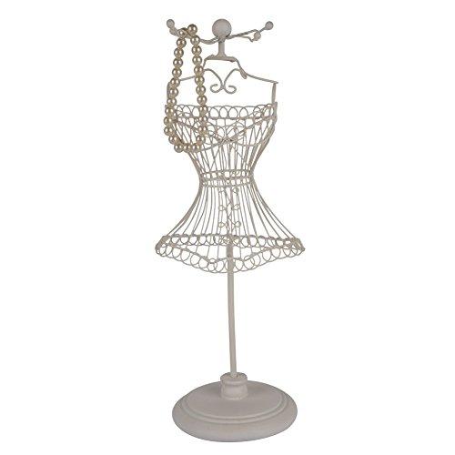 NIKKY HOME Schmuck Organizer Baum Schmuck Ständer Rack Display Antik Kleidung Silber für hängende Ohrringe, Armbänder, - Frame Rack Wire