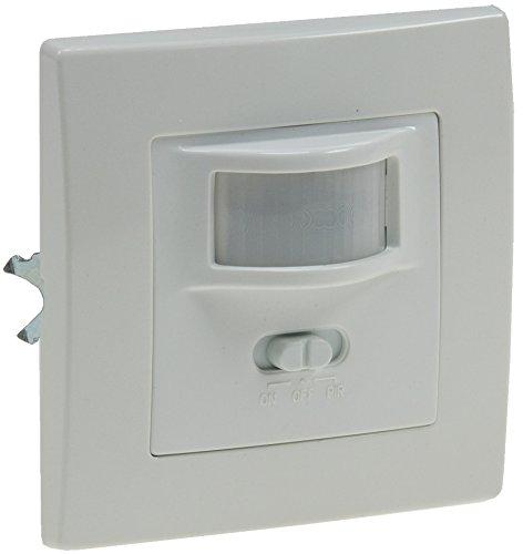 Bewegungsmelder Sensor I Unterputz Einbau I LED geeignet I 9m Reichweite 2-Draht Technik IP20 I ersetzt einen Schalter