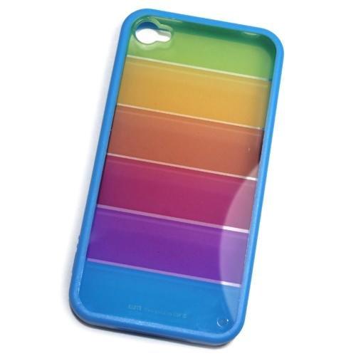 Schutzhülle Silikon Arc En Ciel für Mobile Apple iPhone 4