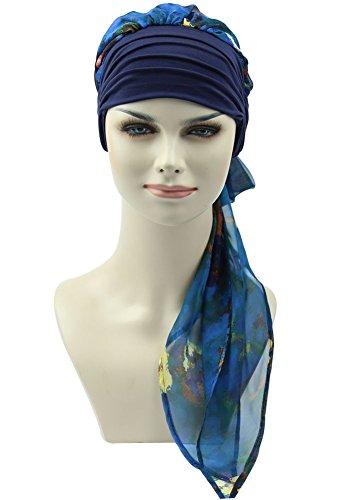FocusCare la chemioterapia per il cancro cancro copricapo feinile turbante turbante scarfs pac