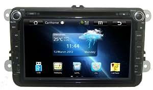 MARS pour VolksWagen Tiguan 8 pouces sous Android sp¨¦cial Autoradio DVD GPS joueur Supprot 3G/WiFi