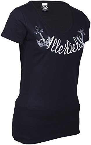 Küstenluder ALLERLIEBST Anker Sailor T-Shirt Rockabilly -