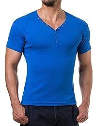 Young and Rich - T shirt homme fashion T shirt 873 bleu roi - Bleu