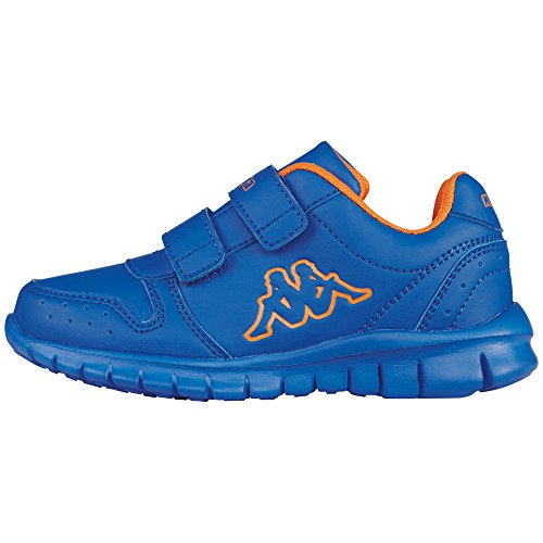 Kappa - Note Ice Kids, Scarpe da ginnastica Unisex – Bambini Blu (6044 Blue/orange)