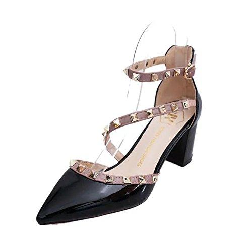 damen in high heels, sommer sandalen, schuhe mit absätzen, frauen - heels 41