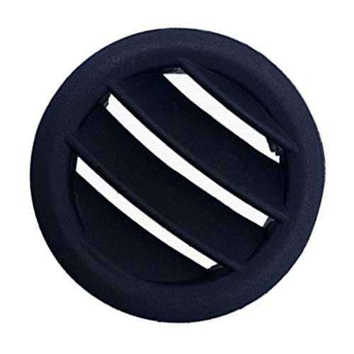 Busirde Kleine runde Klimaanlage Outlet Vent Grille Ersatz für Mercedes Benz C-Klasse W204 C200 C260 - Seite Vent Kühlergrill
