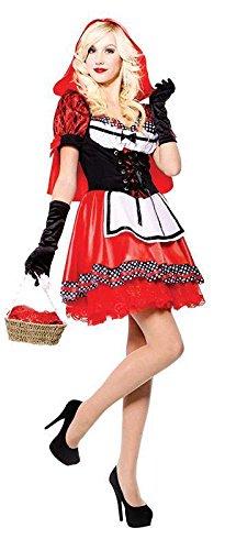 Red Hood Sweetie - Red Riding Hood - erwachsenes Abendkleid- Kostüm - One Size
