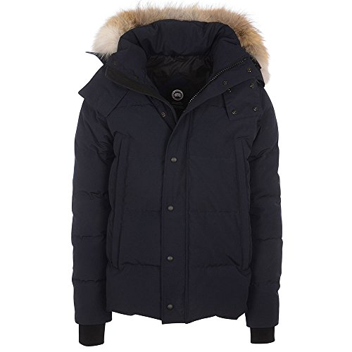 Canada-Goose-Mens-Wyndham-Parka-In-Blue
