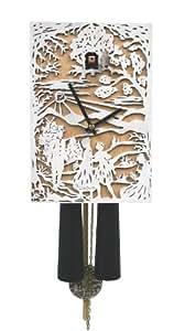 Allemand Coucou 8 jours-mouvement 29 cm - Coucou de la forêt noire authentique Modern-Art-Style by Rombach & Haas