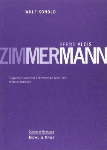 Bernd Alois Zimmermann par Wulf Konold