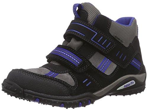 Superfit SPORT4 500364, Jungen Hohe Sneakers, Grau (STONE MULTI 07),  35 EU