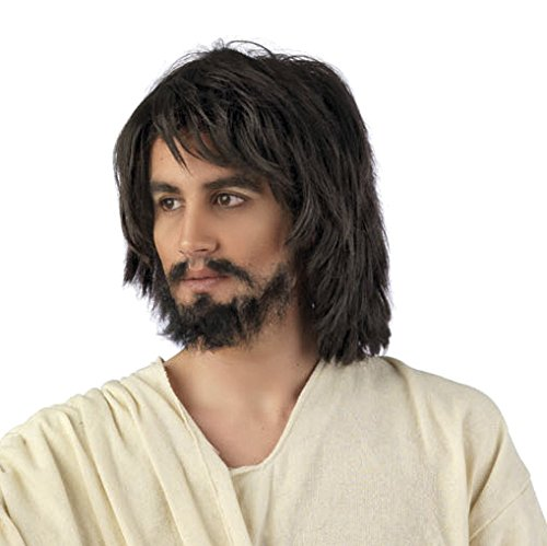 rücke mit kurzen Jesus Christus, Einheitsgröße (cm830) (Sports Perücke)