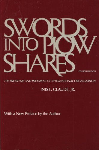 Swords into Ploughshares.Problems & Progress Int.Organizatio