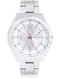 Skylofts Analog Silver Dial Stainless Steel Men's & Boys Watches