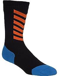 MTB Mid with Hydrostop in Black Blue Orange wasserdichte Socken von Sealskinz