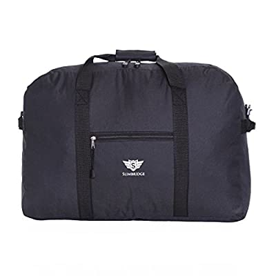Slimbridge Tarbet Super Lightweight 55x40x20cm Cabin Bag - Carry On Under the Seat Hand Luggage Compliant Bags, Approved by Ryanair, EasyJet, British Airways, Virgin, Flybe, Wizzair and Many More - hand-luggage