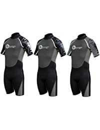 Osprey - WS0018 - 36½ MENS OSX SHORTY WETSUIT Small Long (S) (Assorted Colours)