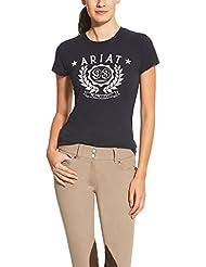 ARIAT T-Shirt LOGO TEE, navy, XS
